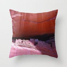 Canyon de Chelly National Park Spectacular Rock Canyons Throw Pillow
