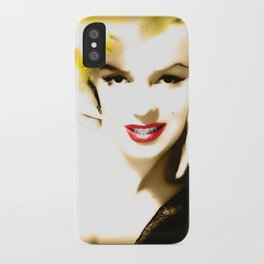 Portrait of  Marilyn Monroe iPhone Case