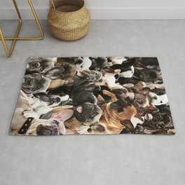 French Bulldogs Rug