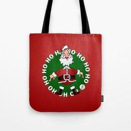Santa Claus: Ho Ho Ho Tote Bag