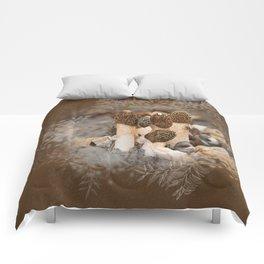 Mushroom Tile Comforters