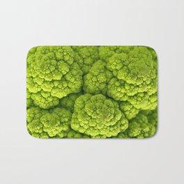 Green Cauliflower Macro Bath Mat