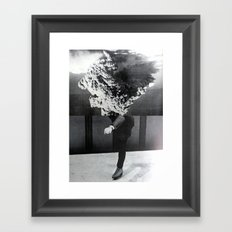 A Series of Vibrations Framed Art Print