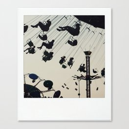 swinging up high Canvas Print