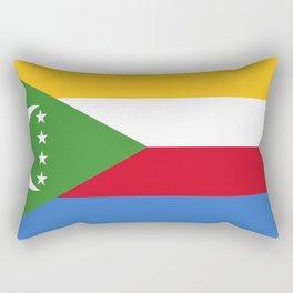 Flag of Comoros Rectangular Pillow