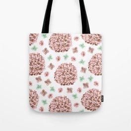 Rosette Bouquet Tote Bag