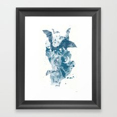Night Flight Framed Art Print