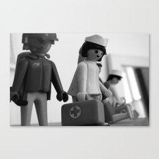 Lego nurse Canvas Print