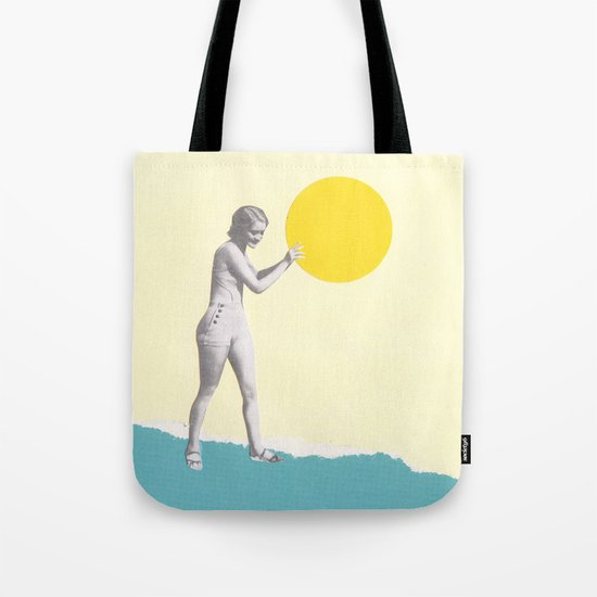 She Caught the Sun Tote Bag