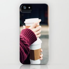 Lattes iPhone Case