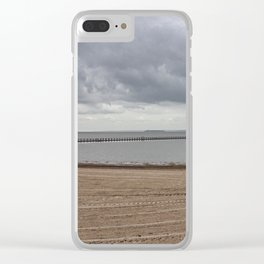 Marine Lake Weston-super-Mare Clear iPhone Case