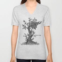 Bristlecone Pine Sketch Unisex V-Neck