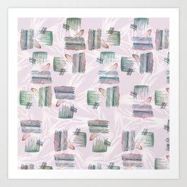 Evoke's Brushstokes Art Print