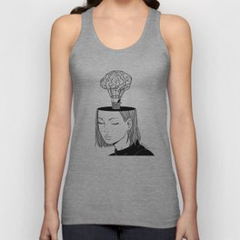Free Thought Unisex Tank Top