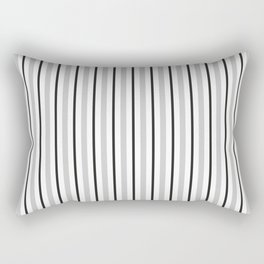 abstract gray and black lines Rectangular Pillow