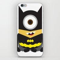 superheros iPhone & iPod Skins featuring Minion - Superheros B by Antonia Elena