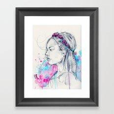 Lily III Framed Art Print
