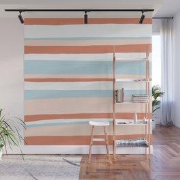 mesa, desert pastel stripes Wall Mural