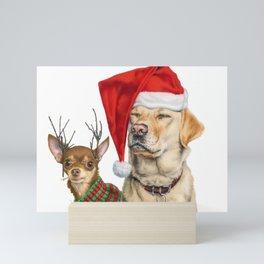 Santa's Little Helpers Mini Art Print