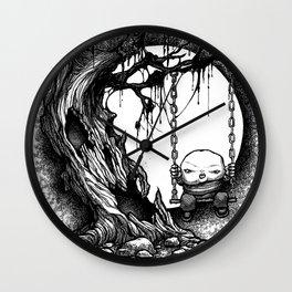 Tree Swing Wall Clock