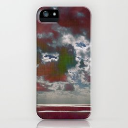 Pink Seas and Clouds iPhone Case