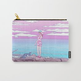 By the ocean Carry-All Pouch