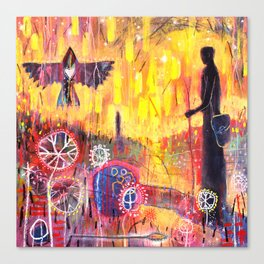 'Waiting For Woden' Canvas Print