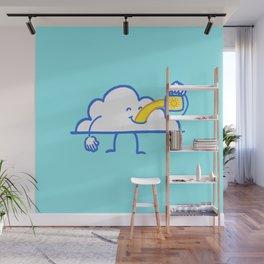The Coffee Cloud Wall Mural