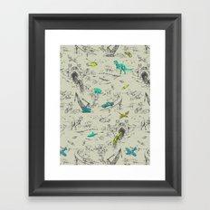Adventure Toile  Framed Art Print