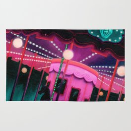Pink and Purple Carnival Rug