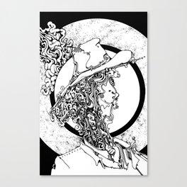 sun of a halo Canvas Print
