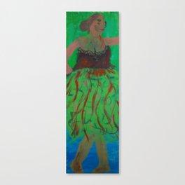 Barefoot Dancer Canvas Print