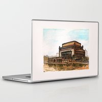 philippines Laptop & iPad Skins featuring Philippines : Manila Central Post Office by Ryan Sumo