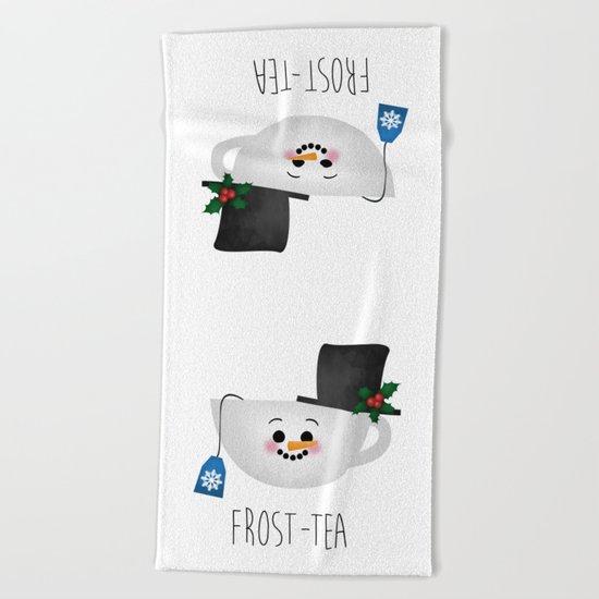 Frost-tea Beach Towel