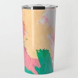 Birthday Cake, Abstract Travel Mug