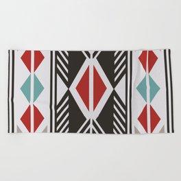 American Native Pattern No. 161 Beach Towel