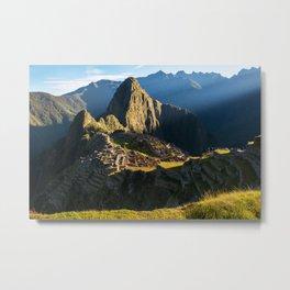 Machu Picchu, Peru Metal Print