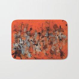 """Ravens Rising"" - Abstract Art Bath Mat"