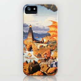 Ultima Online poster iPhone Case