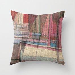 Stilt House 3 Throw Pillow