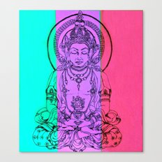 monday meditation Canvas Print