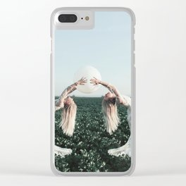 Fight with yourself Clear iPhone Case