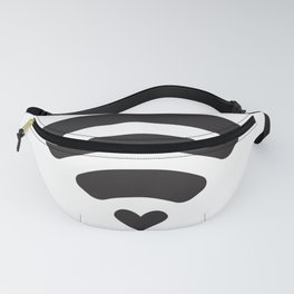 Wifi love, Wifi symbol with Heart Fanny Pack