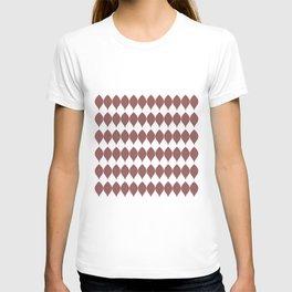 Rustic Brown Leaves T-shirt
