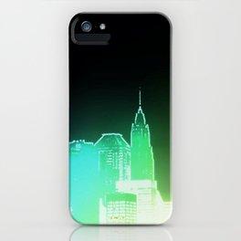 NY skyscape iPhone Case