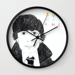Oliver Tate Submarine Wall Clock