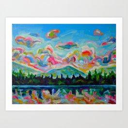 Okanagan Summer Art Print