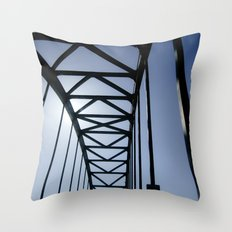 Which Way Do The Arrows Point Throw Pillow