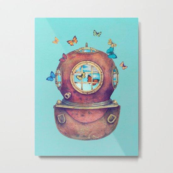 Inner Space - colour option Metal Print
