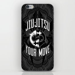 Brazilian Jiu-jitsu Chess Kings iPhone Skin